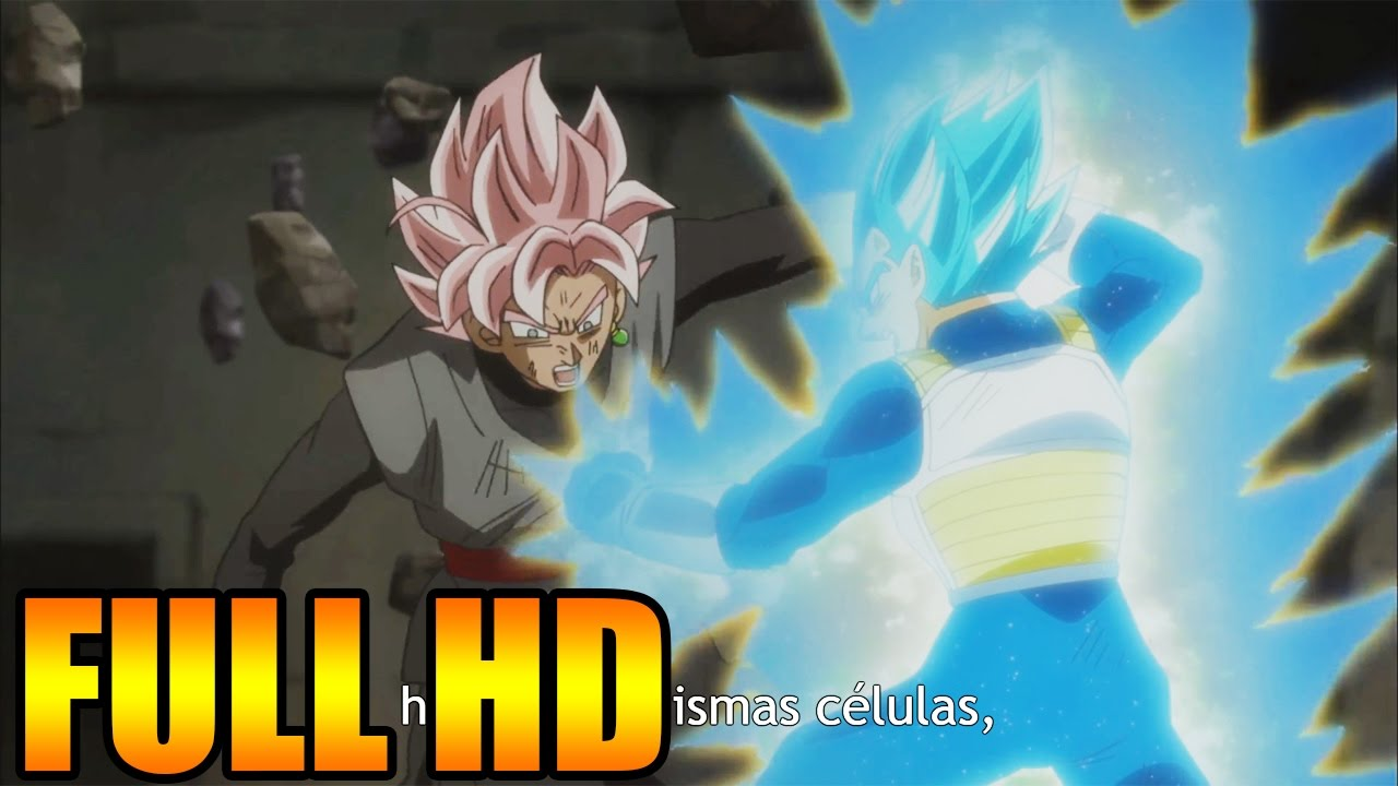Ver Vegeta SUPER SAIYAN BLUE VS Black Goku SUPER SAIYAN ROSE Dragon Ball Super español latino bt3 en Español Online