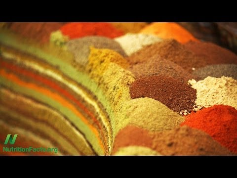 The Anti-inflammatory Effects of Spices Tested