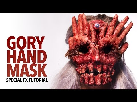 How to Make a Gory Hand Face Mask