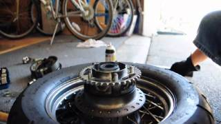 10. Honda Shadow Spirit 750 Sprocket Mod - How to Replace Chain and Sprockets