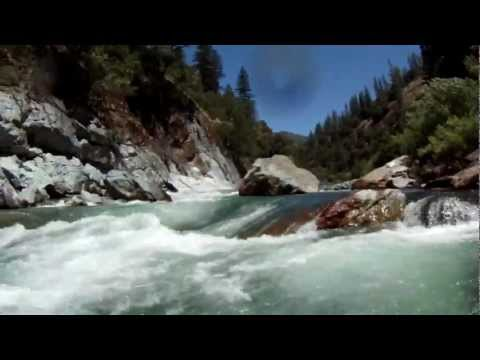 North Fork American River Chamberlain Falls whitewater kayaking