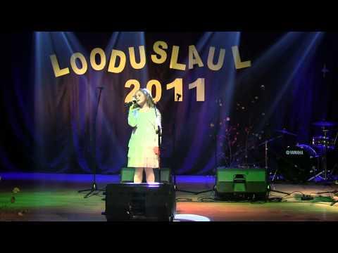 Elva Looduslaul 2011, Pauline Vähi, Punab pihlakaid (K. Kikerpuu) (видео)