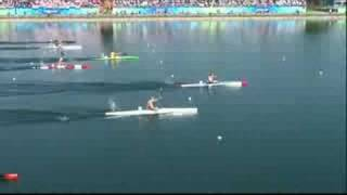 Catch the final of the men's 1000M K1 canoe/kayak competition at the Beijing 2008 Summer Olympic Games.http://www.olympic.org/canoe-kayak-flatwater-k-1-1000m-kayak-single-menhttp://www.olympic.org/beijing-2008-summer-olympics