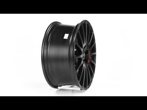 Диски OZ Racing SUPERTURISMO GT, цвет MATT BLACK RED LETTERING
