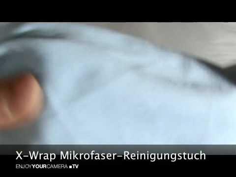 X-Wrap Mikrofaser-Reinigungstuch - by www.enjoyyourcamera.com