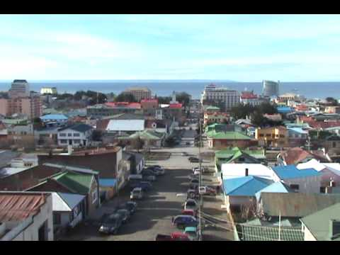 Punta Arenas Chile Panoramic View of City
