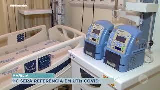 HC de Marília terá mais 10 leitos de UTI para tratamento da  Covid-19