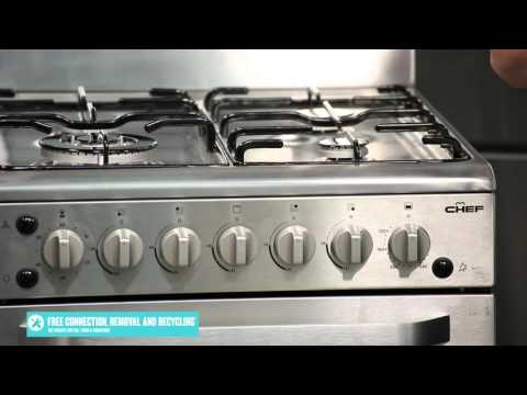 Freestanding Chef Gas Oven Stove CFG517SA reviewed by product expert - Appliances Online