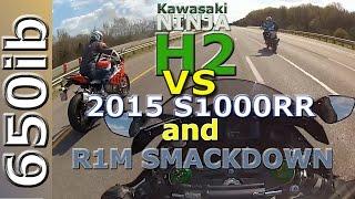 Kawasaki Ninja H2 VS Reszta świata