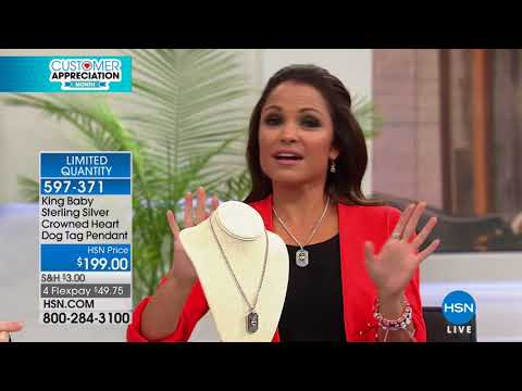 HSN | King Baby Jewelry 04.17.2018 - 02 AM