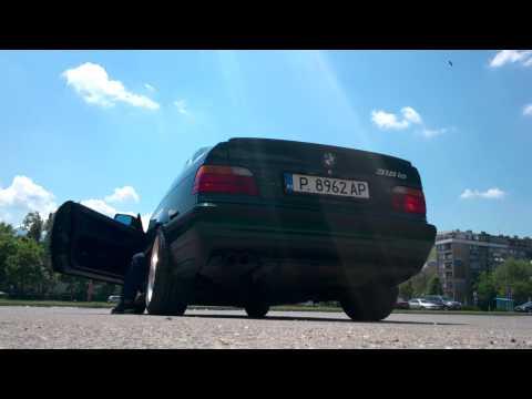 BMW E36 318IS with e46 328 muffler