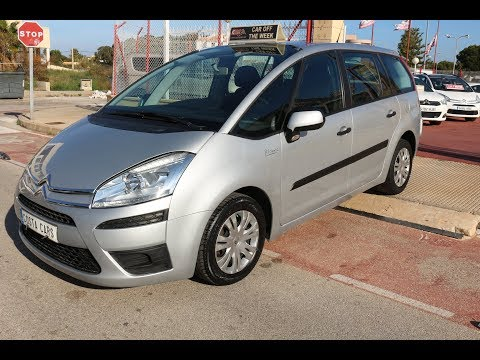 See video Citroen C4 GRAN PICASSO 1.6VTi BUSINESS