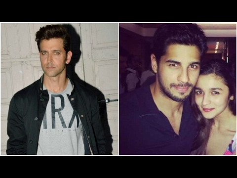 Hrithik Spotted At The Airport   Sidharth-Alia Spe