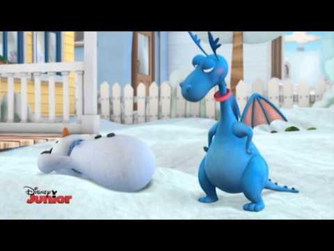 Cartone animato completo dottoressa peluche e i suoi pupazzi parlanti, episodio video del cartone la dottoressa e la neve