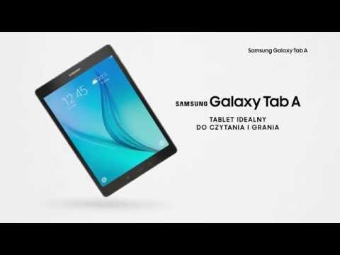 Tablet SAMSUNG Galaxy Tab A WiFi 16GB Czarny SM-T550NZKAXEO