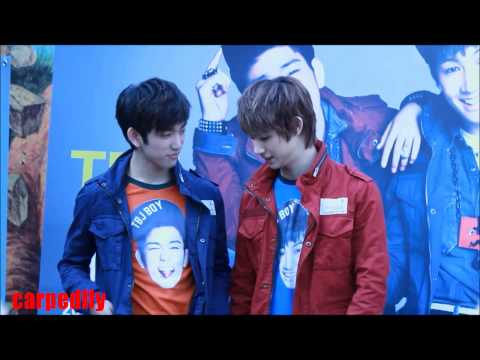 [fancam] 121006 JJ Project TBJ Fan Sign Event JB Focus