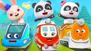 Video Super Panda and Super Train   Thomas Train   Nursery Rhymes   Kids Songs   BabyBus MP3, 3GP, MP4, WEBM, AVI, FLV Juni 2019