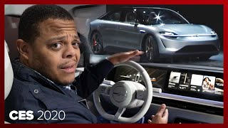 Sony made a car! The Sony Vision-S Concept by Roadshow