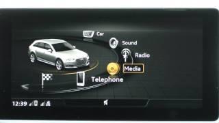 Audi A4 Avant 2016 - MMI & Virtual Cockpit Video