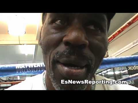 ROGER MAYWEATHER ON floyd vs guerrero and says Emanuel Augustus Was Toughest