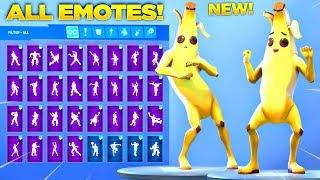 *NEW* PEELY SKIN SHOWCASE WITH ALL FORTNITE DANCES & NEW EMOTES! (Fortnite Season 8 Skin)