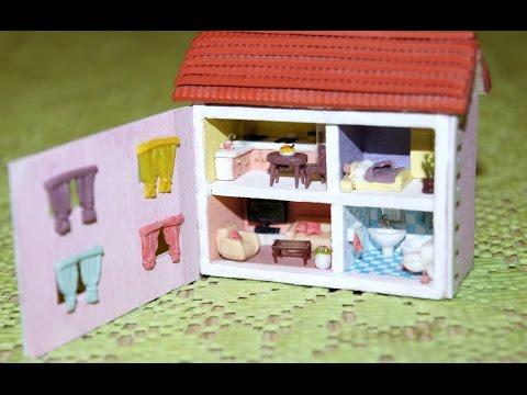 Домики для маленьких кукол своими руками 45