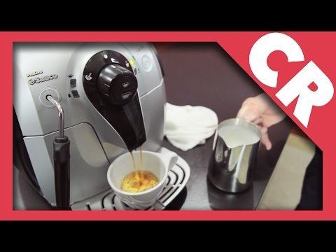 Saeco Xsmall Espresso Machine   Crew Review