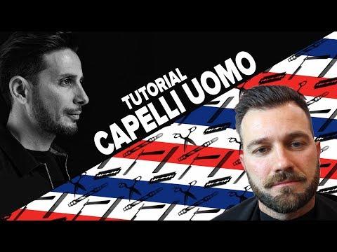 TUTORIAL CAPELLI UOMO - Pettinatura all'indietro capelli morbidissimi!!