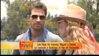Sebastin Rulli y Aracely Armbula  hablaron  de su relacin con Jorge Ugalde para Hoy.mp4