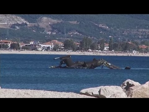 Πτώση ελικοπτέρου Απάτσι στην Βόρεια Ελλάδα