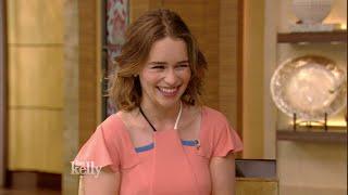 Emilia Clarke loves talking like a Valley Girl.