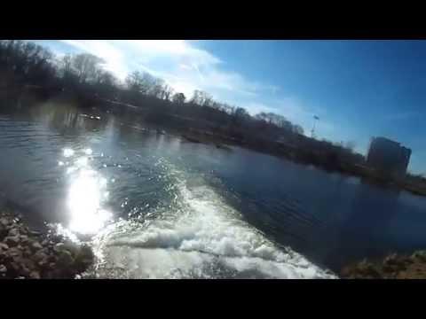 Four Mile Run fishing tour - Alexandria VA