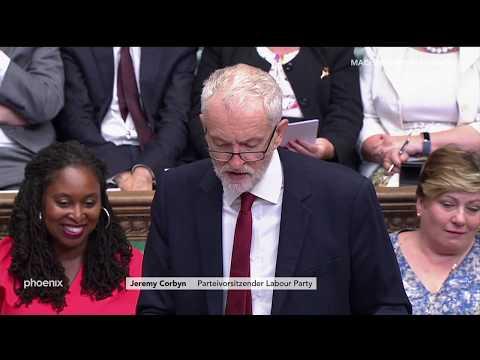 Brexit: Statement Labour-Chef Jeremy Corbyn zur Brexi ...
