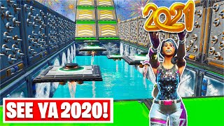 The 2021 NEW YEAR'S Deathrun! (Fortnite Creative)