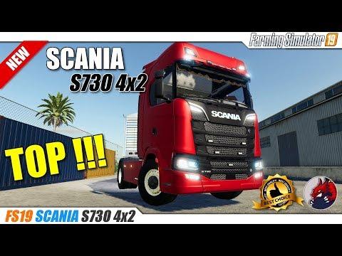 Scania S730 4x2 fs19 v1.0