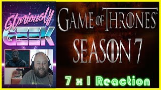 GAME OF THRONES  7 X 1 DRAGONSTONE  REACTION! SUBSCRIBE HERE ► https://www.youtube.com/channel/UCPAckJ3dleAOCJcMG4qhPQg?sub_confirmation=1Follow my Instagram ► http://instagram.com/gloriouslygeekFollow me on Twitter ► https://twitter.com/gloriouslygeekLike me on Facebook ► https://www.facebook.com/gloriouslygeekVisit Mick's Mixology ► https://www.youtube.com/channel/UCjnnQc-Wkt3pcGsguoVoIPQ?sub_confirmation=1