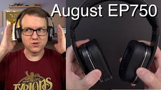 Video August EP750 Over-Ear Bluetooth Headphones MP3, 3GP, MP4, WEBM, AVI, FLV Juli 2018