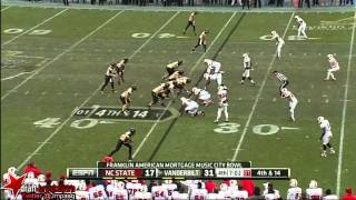 Jordan Matthews vs NC State & Wake Forest (2012)