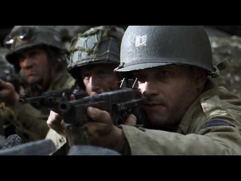 Saving Private Ryan (1998) - Final Battle Scene (Part 1)