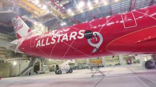 Video #AirAsiaXTurns9 - The making of the AirAsia X's 9th Anniversary livery MP3, 3GP, MP4, WEBM, AVI, FLV Agustus 2018