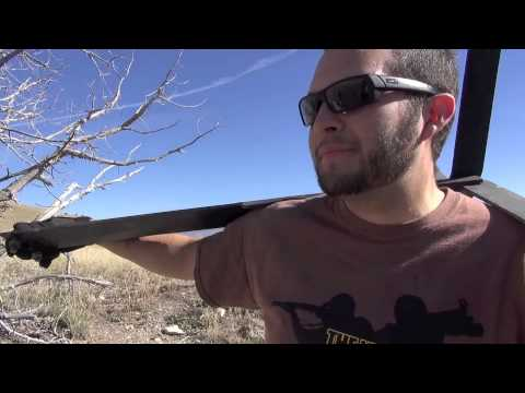 joke - Given a convincing story about the large desert black bear in the area, Chad Enos excitedly searches for evidence. He finds a large pile of fresh scat and the funs begins. OMG, one the best...