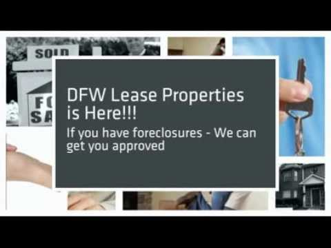 Dfw Lease Properties | RENT TO OWN | FREE LIST | Dallas | Texas