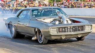 MEGALODON - SCREAMING Procharged '69 Camaro! by 1320Video