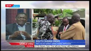 World View: Interview South Sudan Crisis 12/10/2016