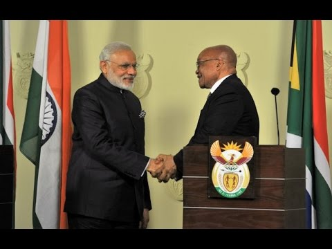 PM Modi at the Joint Press Statements in Pretoria, South Africa