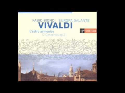 Concerto No. 1 in D, RV 549: III. Allegro