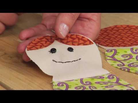 Sizzix Quilting: Mermaid Doll with Jennifer Jangles