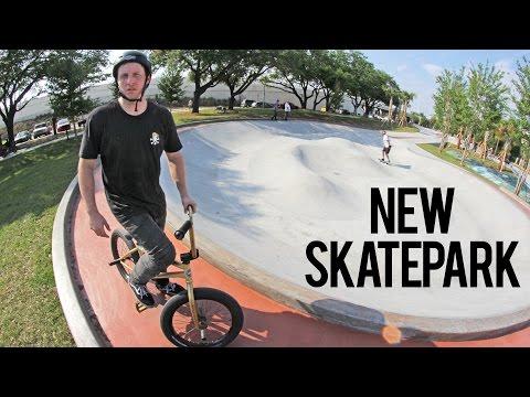 Webisode 62: BRAND NEW SKATEPARK! (BMX)