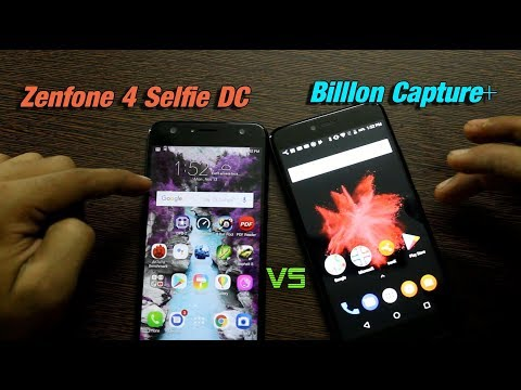 Flipkart BillIon Capture Plus+ VS Zenfone 4 Selfie DC Comparison, Camera, Speed and More हिंदी