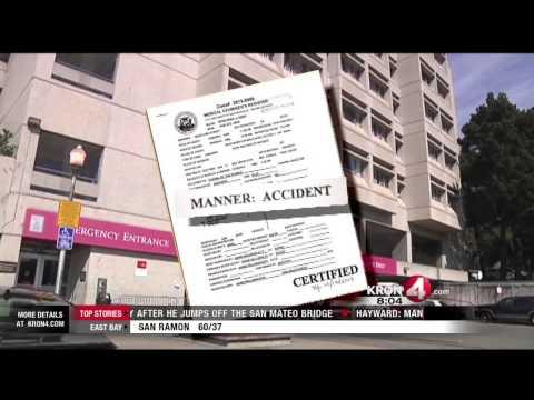 Coroner Ties Alcoholism To San Francisco Hospital Stairway Death